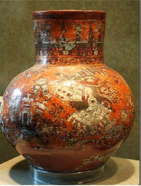 aztec pottery the most striking aspect of aztec culture is